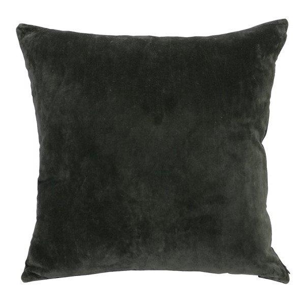 kissen flourney velvet samt gr n 50x50 cm gutraum8 accessoires. Black Bedroom Furniture Sets. Home Design Ideas