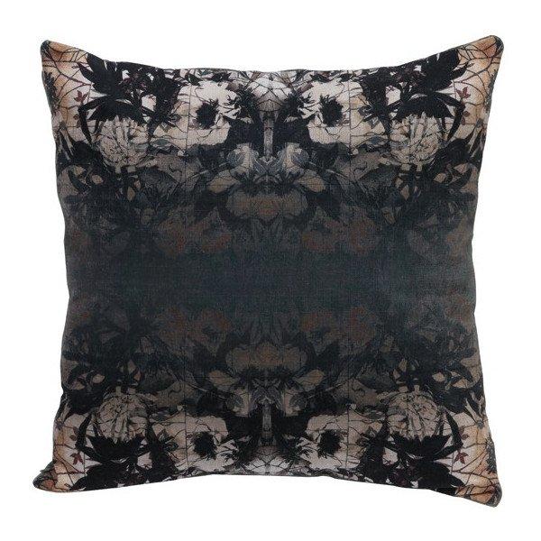 kissen rorschach velvet samt gr n dessin 50x50 cm gutraum8. Black Bedroom Furniture Sets. Home Design Ideas