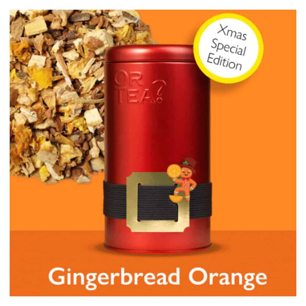gingerbread orange tee edition weihnachten gutraum8 or tea geschenke. Black Bedroom Furniture Sets. Home Design Ideas