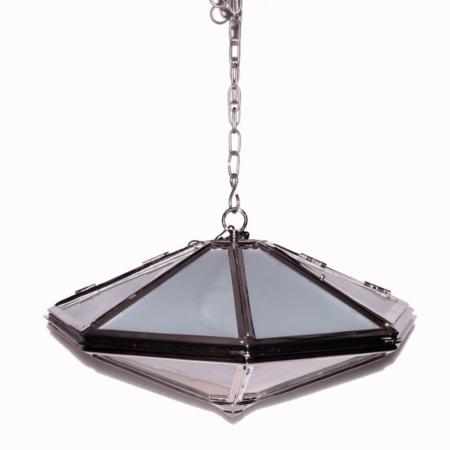 Hängeleuchte Ganzevoort, aus Glas & Metall von Van Roon Living