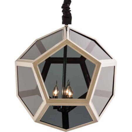 Hängeleuchte ST. REGIS, Luxus in schwarz und silber - von Van Roon Living