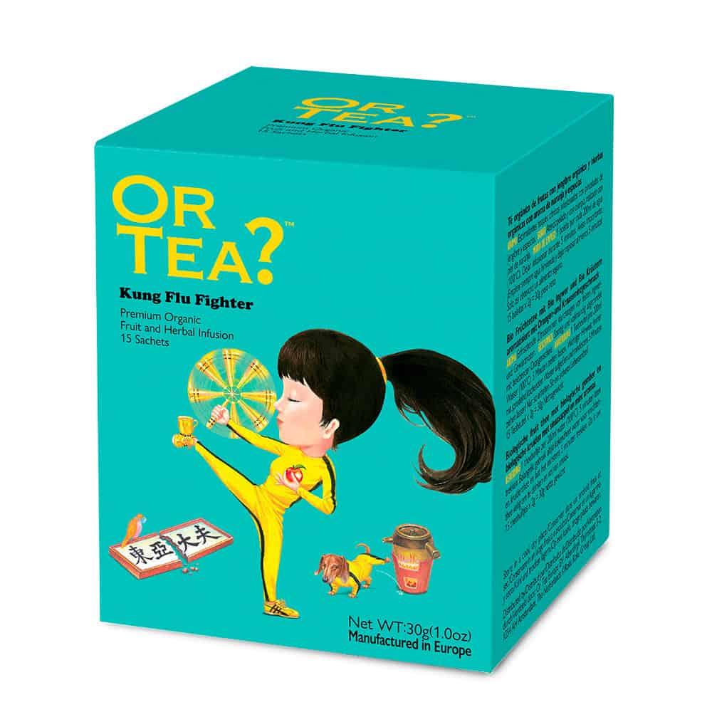 Or Tea? Kräutertee KUNG FLU FIGHTER ,im Teebeutel