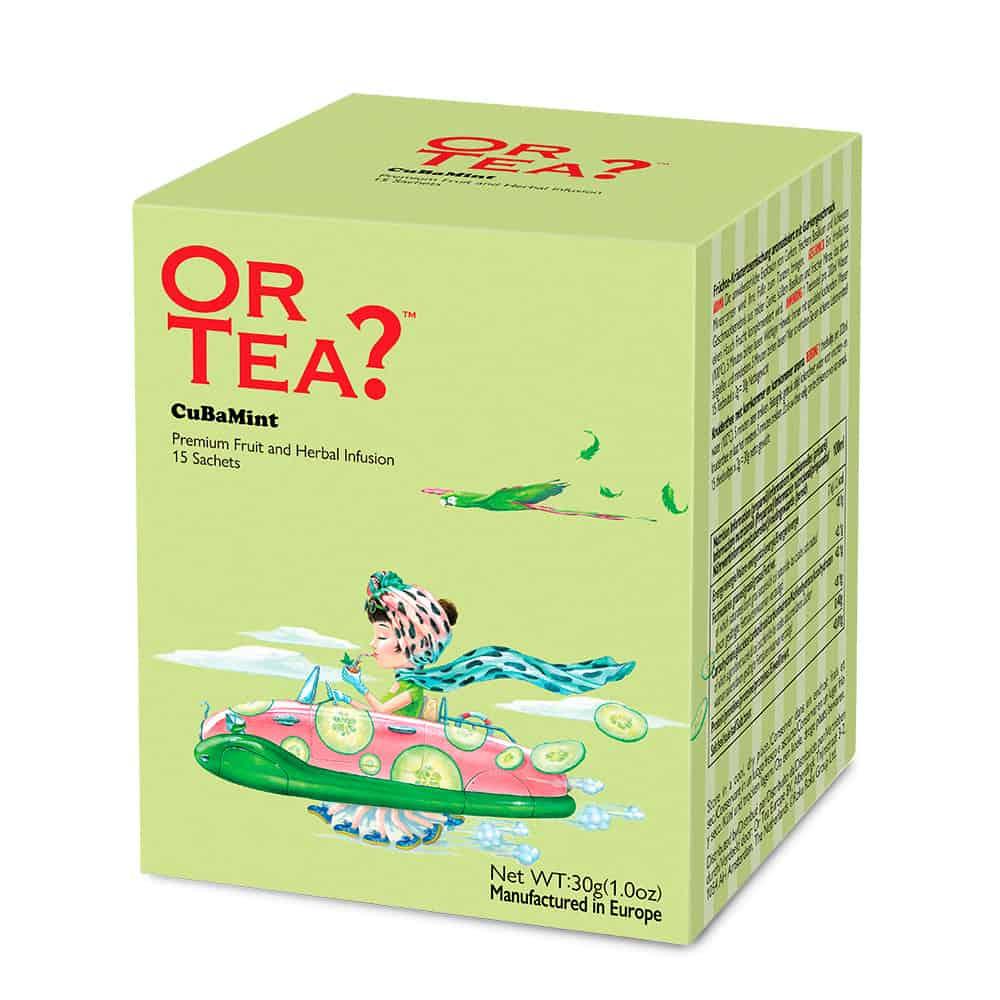 Or Tea? Kräutertee CuBaMint, im Teebeutel