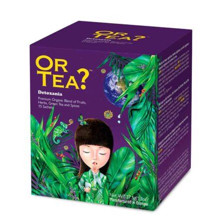 Or Tea? DETOXANIA, Grüner Tee im Teebeutel