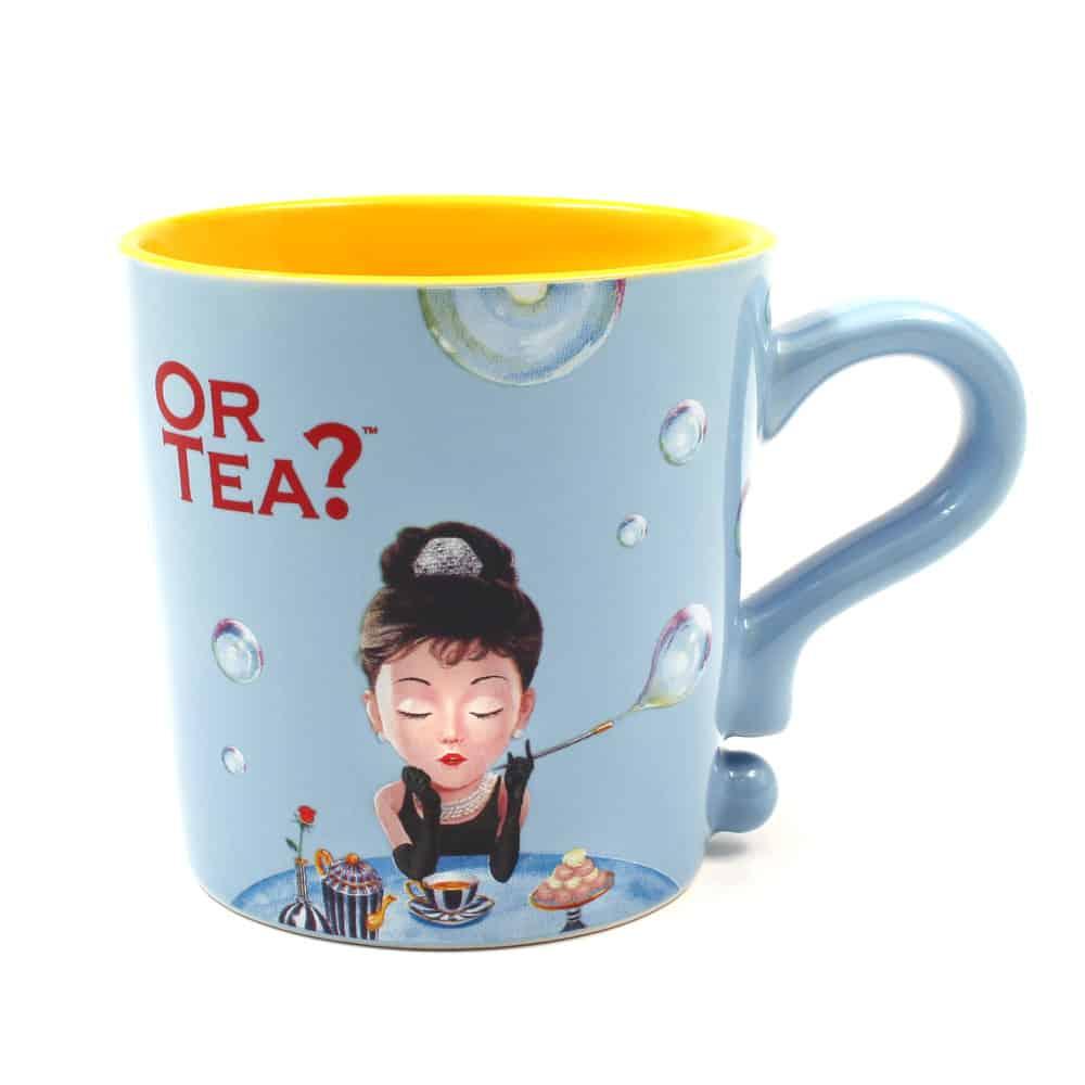Teetasse Blau - Baby Blau, Or Tea? praktische Teetasse mit Teesieb und Deckel
