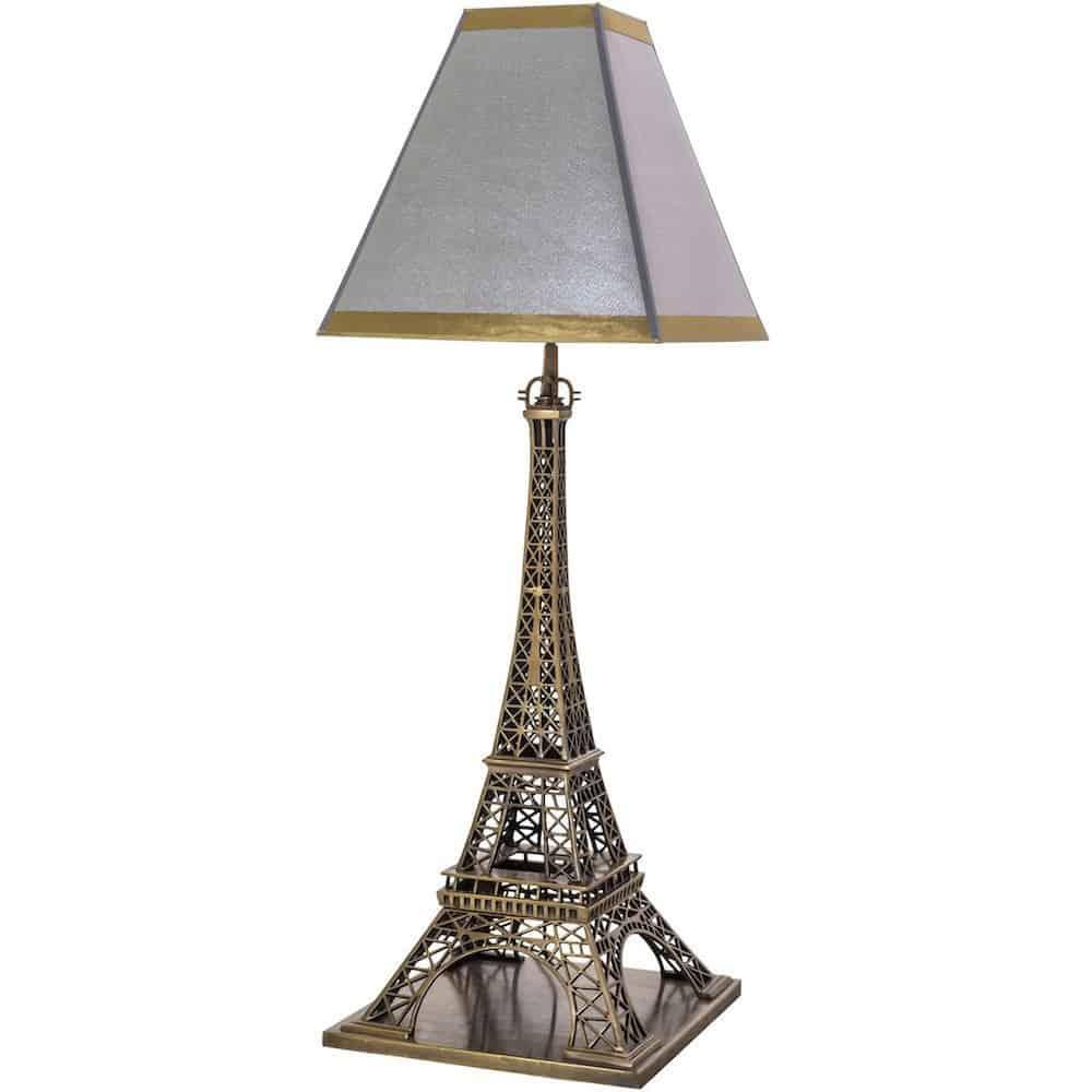 Tischlampe THE EIFFEL, extravagante Leuchte in Form vom Eiffelturm von Van Roonn Living
