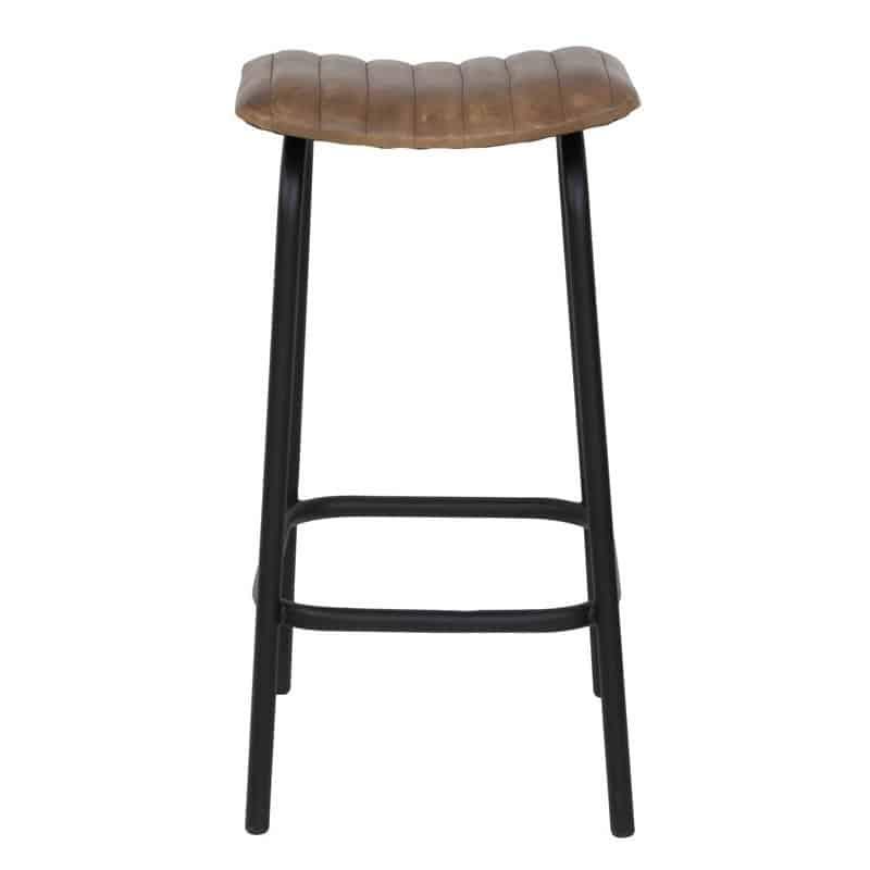 light living barhocker carrow leder braun gutraum8. Black Bedroom Furniture Sets. Home Design Ideas