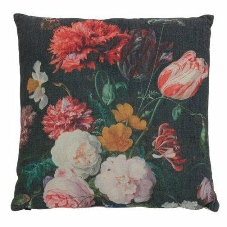 Kissen BOTANICA, viereckig mit Blumenmuster von Light & Living