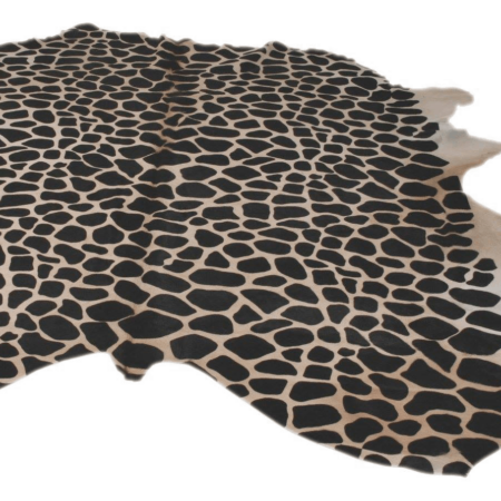 Kuhfell Teppich Giraffe naturel