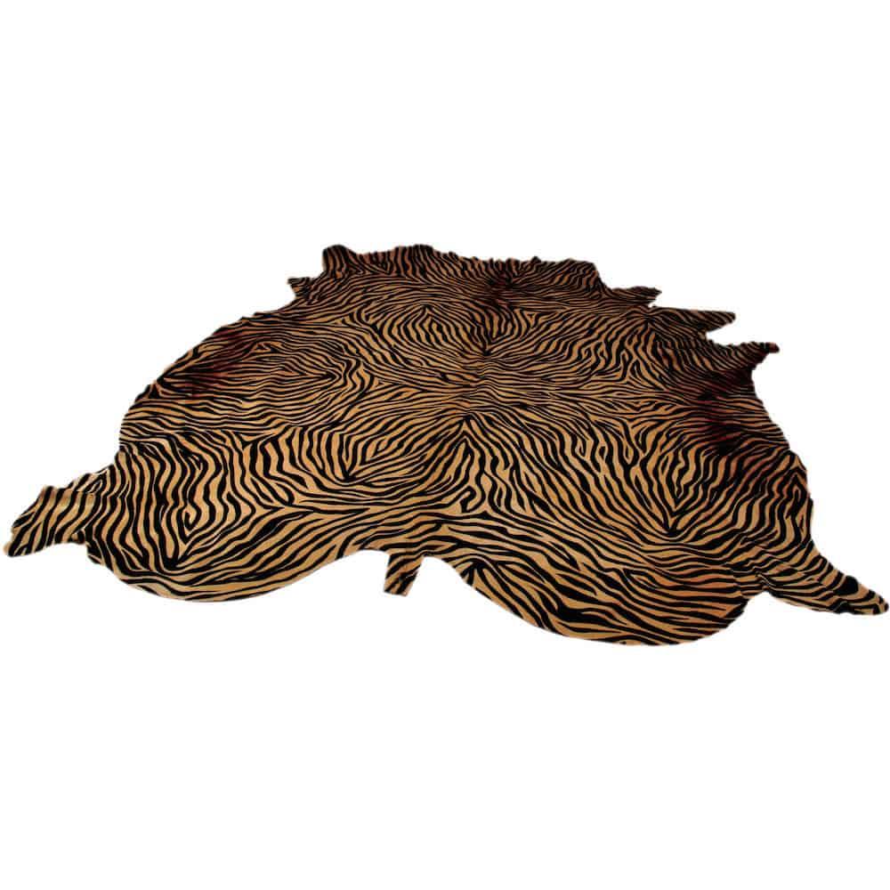 kuhfell teppich zebra gutraum8. Black Bedroom Furniture Sets. Home Design Ideas