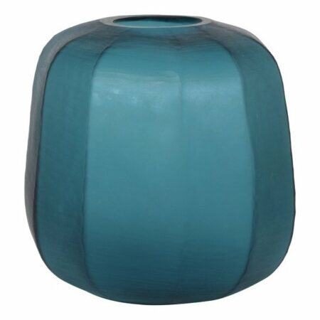Vase PACENGO, extravagante Vase in türkis von Light & Living