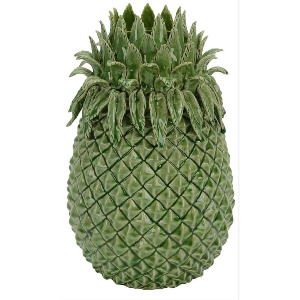 van roon living vase pine ananas 21x33 cm gutraum8. Black Bedroom Furniture Sets. Home Design Ideas