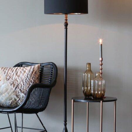 Light & Living Vase OLEIROS aus Glas in Ocker
