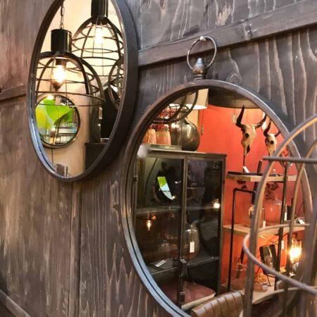 Light & Living Spiegel GREAT Zink