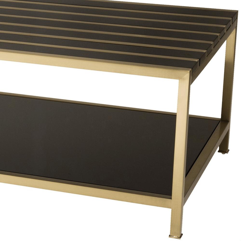 Luxus couchtisch rathbone in gold schwarz gutraum8 interior for Luxus couchtisch