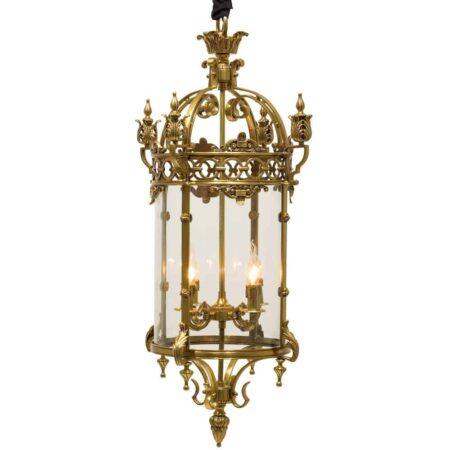 Hängeleuchte GRIMALDI Gold + Glas von Van Roon Living