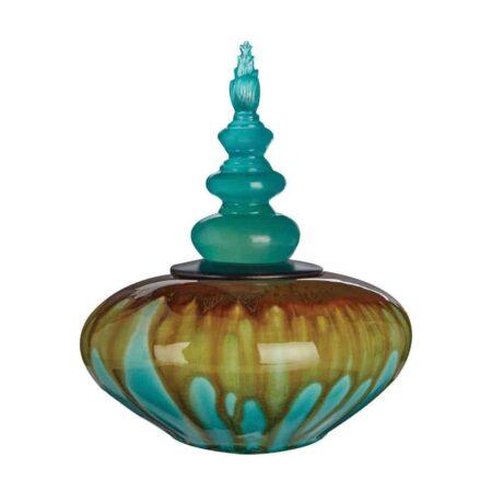 Keramikdose TEMPEL Buddha