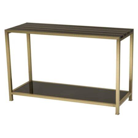 Konsolentisch RATHBONE schwarz-gold von Van Roon Living