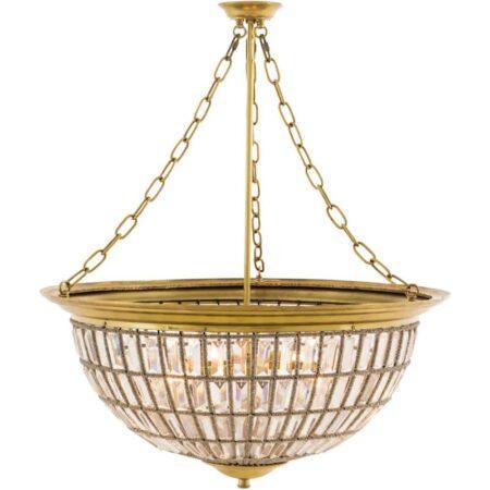 Kronleuchter FENTON Gold Kristall von Van Roon Living