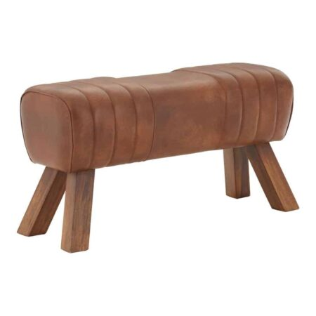 Hocker GYM Pauschenpferd Leder