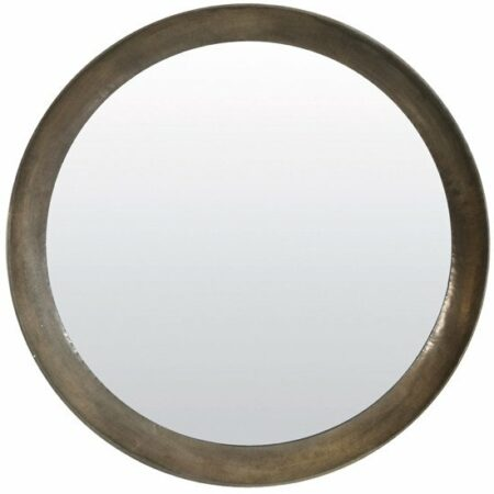 Light & Living Spiegel SPIRIT, rund antik Silber Ø120