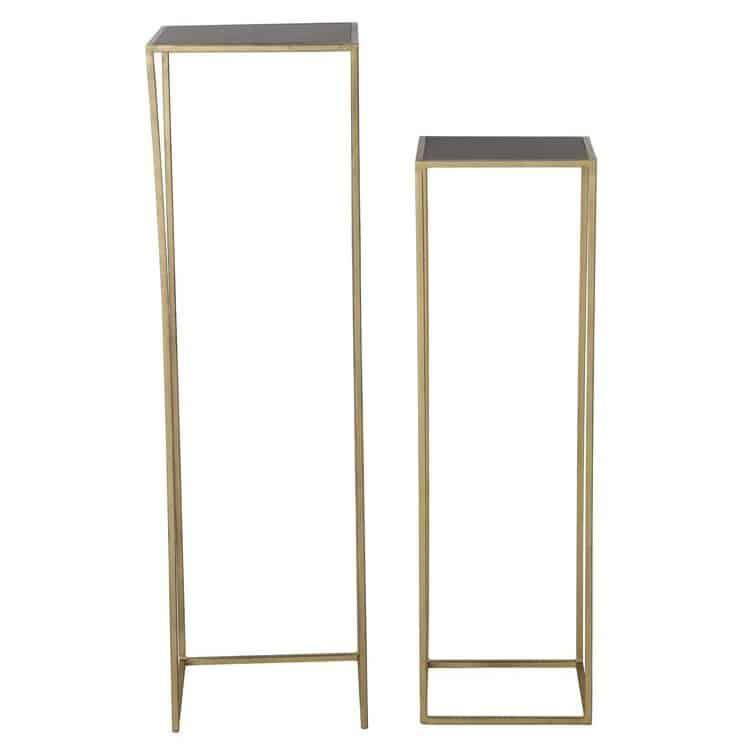 konsolentisch boca wash gold matt schwarz gutraum8 interior. Black Bedroom Furniture Sets. Home Design Ideas