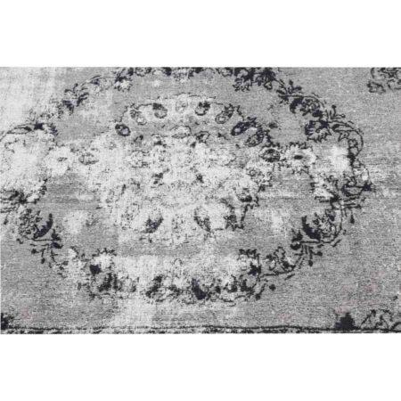 Light & Living Vintage Teppich DURLA SChwarz