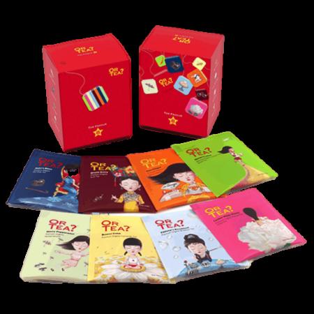 Tee von Or Tea? FAVOUR8 die acht beliebtesten Teesorten im Teebeutel
