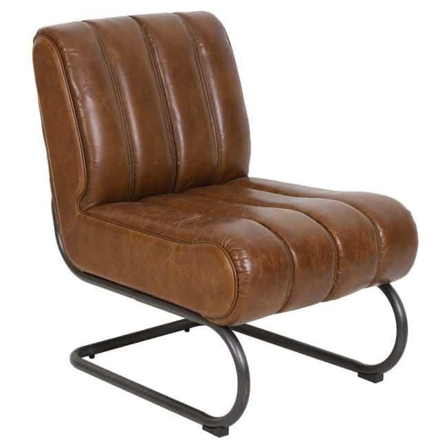 sessel russel leder braun von light living gutraum8 m bel. Black Bedroom Furniture Sets. Home Design Ideas