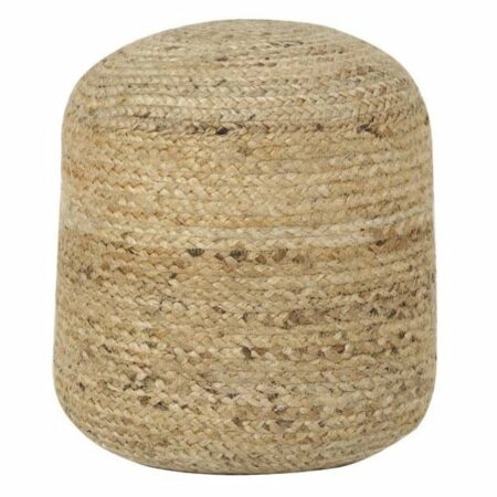 Sitzpouf CHEOPS JUTE naturell von Light & Living