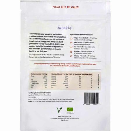 SugaVida Palmyrablütenzucker, Palmzucker ist die gesunde alternative zu Industriezucker - reich an B-Vitaminen