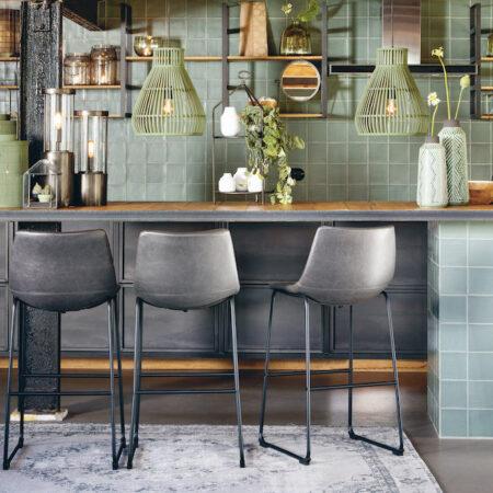 Küchenmöbel, Leuchten und Dekoration für die Küche