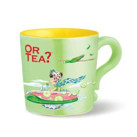 Teetasse Grün - Lime Grün, Or Tea? praktische Teetasse mit Teesieb und Deckel