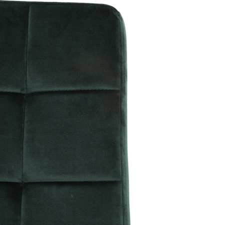 Esszimmerstuhl OLIVE - Stuhl in dunkel Grün aus zartem Samt von der Marke Light & Living