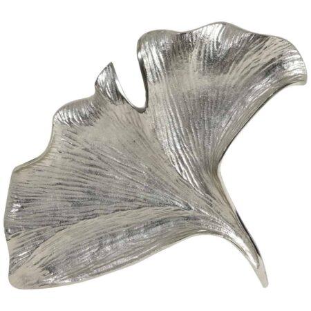 Schale TRAMETE MYRTEL, silber aus Metall von Light & Living