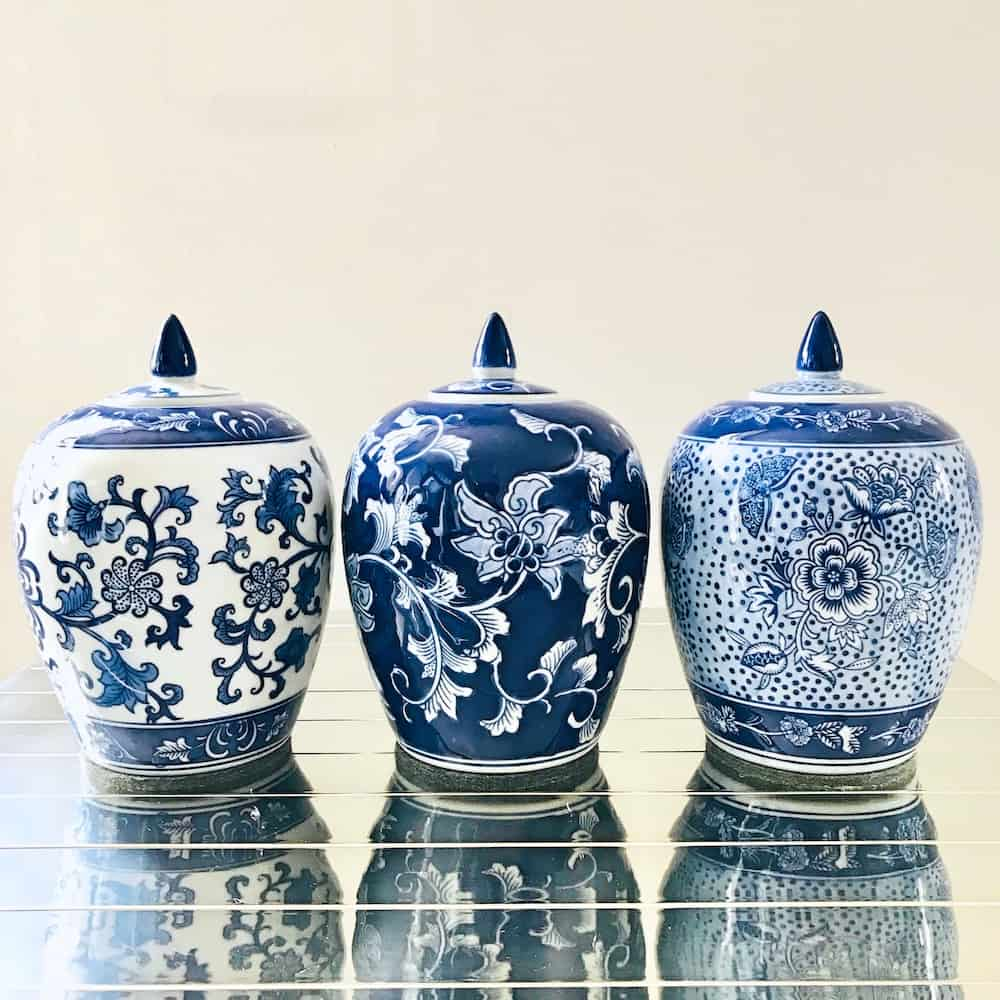 Keramikdose IMPERIAL SUITE, Keramik im 3er-Set, kaiserliches Design von Van Roon Living