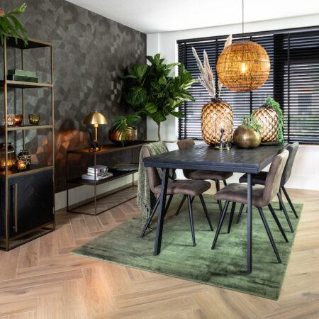 Esszimmer, Möbel und Dekoration von Light & Living