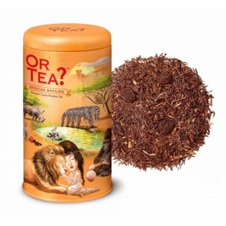 Or Tea? Rooibos Tee AFRICAN AFFAIRS, verfeinert mit Trauben, Kakaobohnen, Vanille und Trüffelaroma