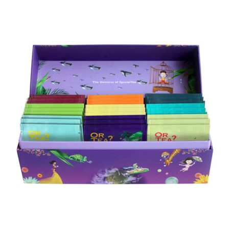 Organic Treasure Box Tee, wunderschöne Teebox mit 9 verschiedenen Teesorten von OrTea?
