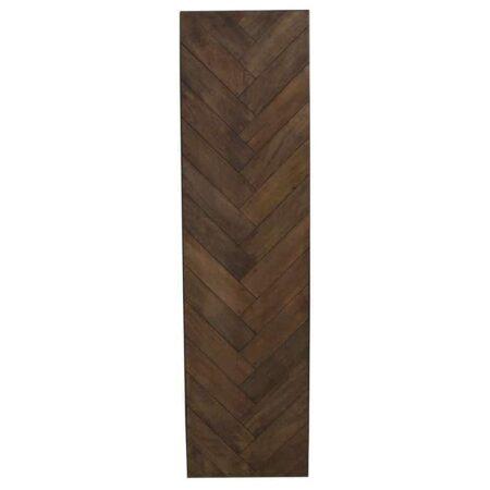 TKonsolentisch CHISA, ischplatte aus Holz, einzelne Holzstreben