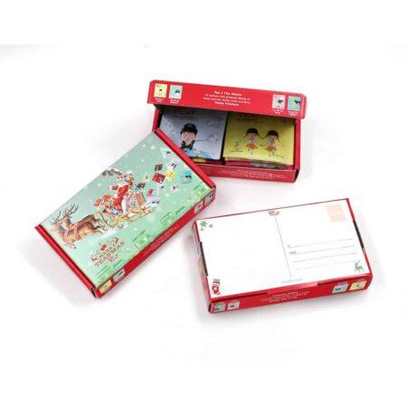 Tee Geschenkbox, Tee Box als Postkarte zu versenden von OrTea?