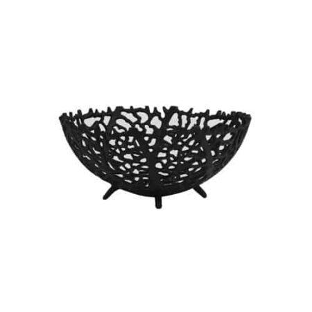 Schale GALAXA Ø25,5x11 cm in schwarz matt von Light & Living