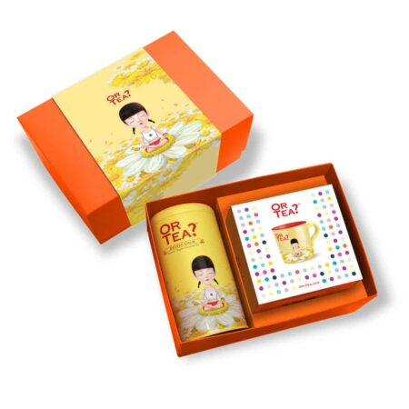 , Geschenkbox Or Tea? Beeee CalmKamillentee + praktische Teetasse mit Sieb & Deckel