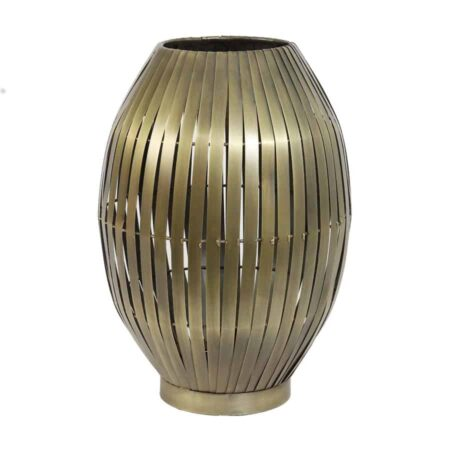 Tischlampe KYOMI antik Bronze, extravagante moderne Tischleuchte von Light & Living
