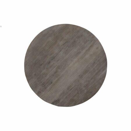Esstisch BIBOCA, akazia Holz grau-schwarz - Ø140x78 cm