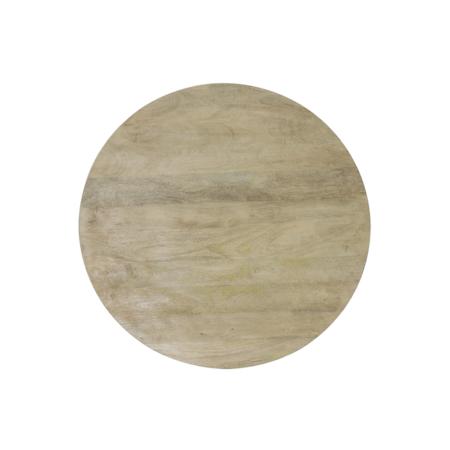 Esstisch MAGNIFERA, Mango Holz - runder Esstisch Ø140x78 cm