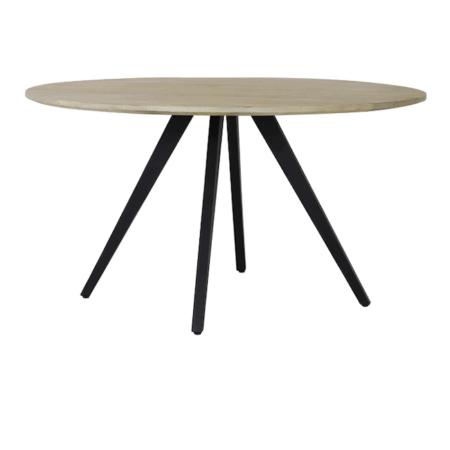 Esstisch MAGNIFERA, Mango Holz - runder Esstisch Ø120x78 cm