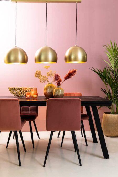 Esszimmer, moderner Essbereich, Esstisch, Esszimmerstühle und Dekoration von Light & Living