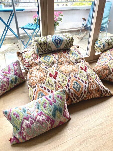 Kissen MAROKKO Serie, exklusive Zierkissen und Bodenkissen im orientalischen Stil von der Marke Carma