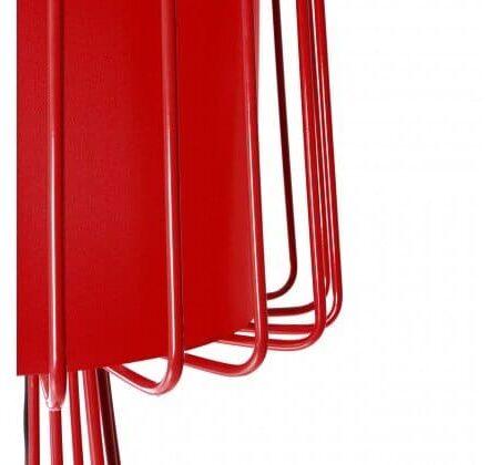 Stehlampe ARIA FLOOR, auffällige Stehleuchte in Rot